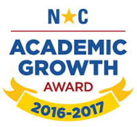 Award for achieving the goal of expected academic progress for students during the 2016-2017 school year