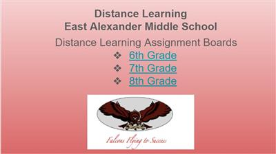 EAMS Online Distance Learning Assignment Boards