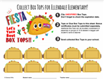 Lets Taco Bout Collecting Box Tops Sheet