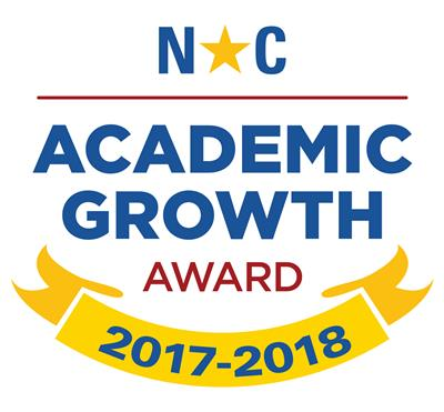 Stony Point Elementary School achieved academic growth expectations for students during the 2017-2018 school year