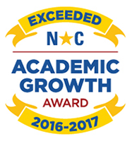 Stony Point Elementary School exceeded academic growth expectations for students during the 2016-2017 school year