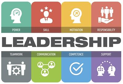 Clipart about leadership and what leadership means.