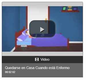Stay Home Video Spanish