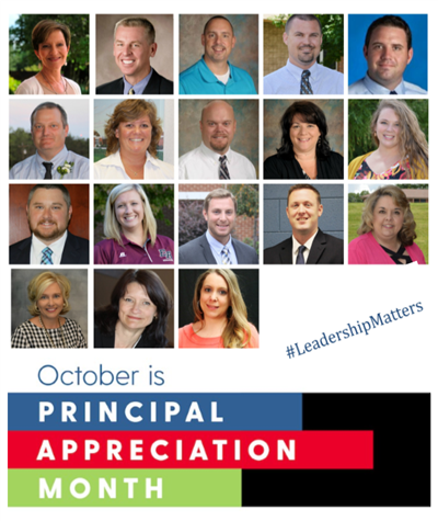 Celebrate the wonderful principals and assistant principals in Alexander County Schools!