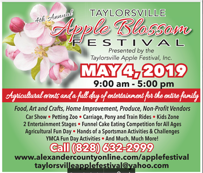 graphic for the Apple Blossom Festival