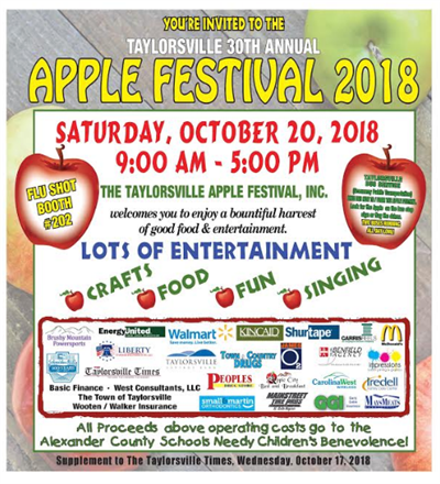 Join Us at the Taylorsville Apple Festival!