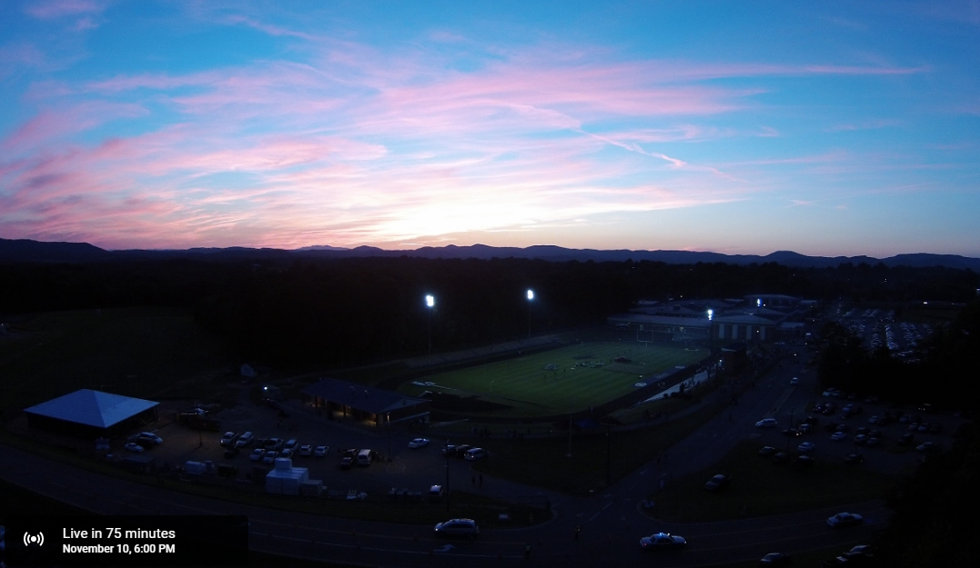 Evening view of the stadium at ACHS - YouTube graphic