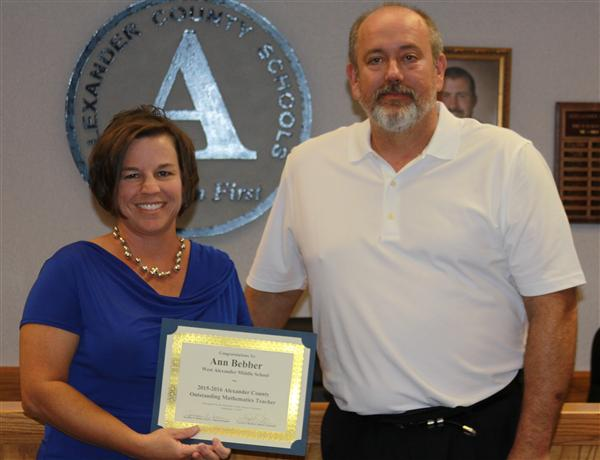 Congratulations to Ann Bebber!