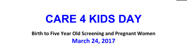 Care 4 Kids Day Information