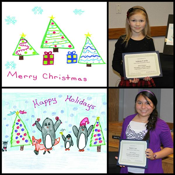 District Christmas Card Artists