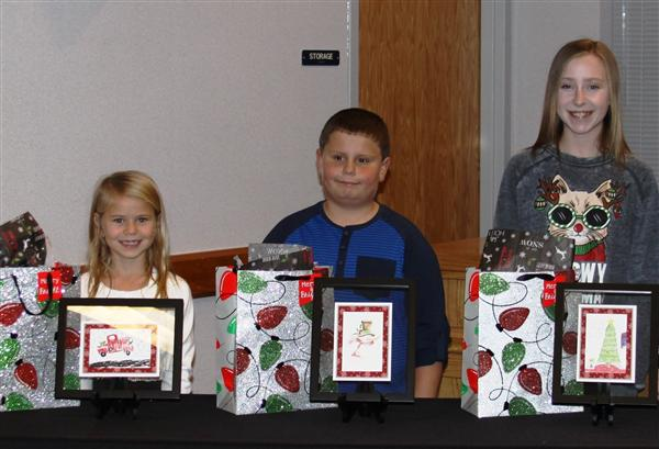 Holiday Card Contest Winners Recognized