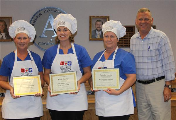 K-12 Culinary Institute Chef Ambassadors Recognized