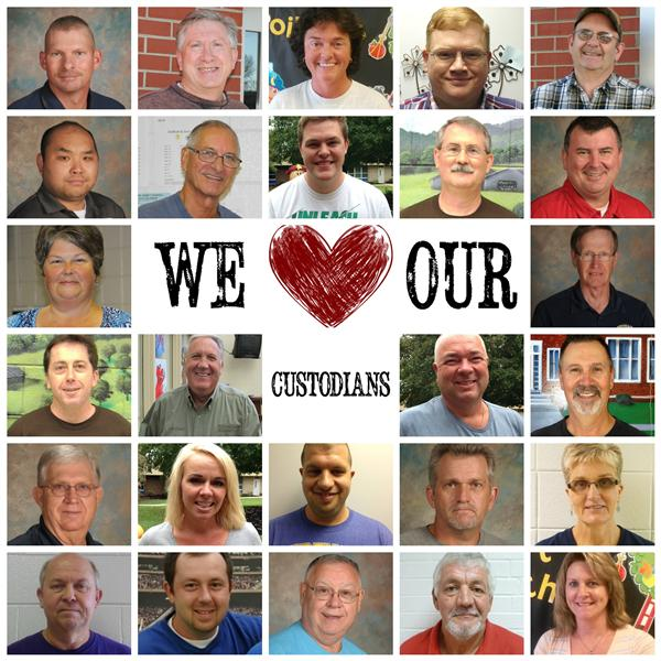 Custodian Appreciation - #Todayismyday