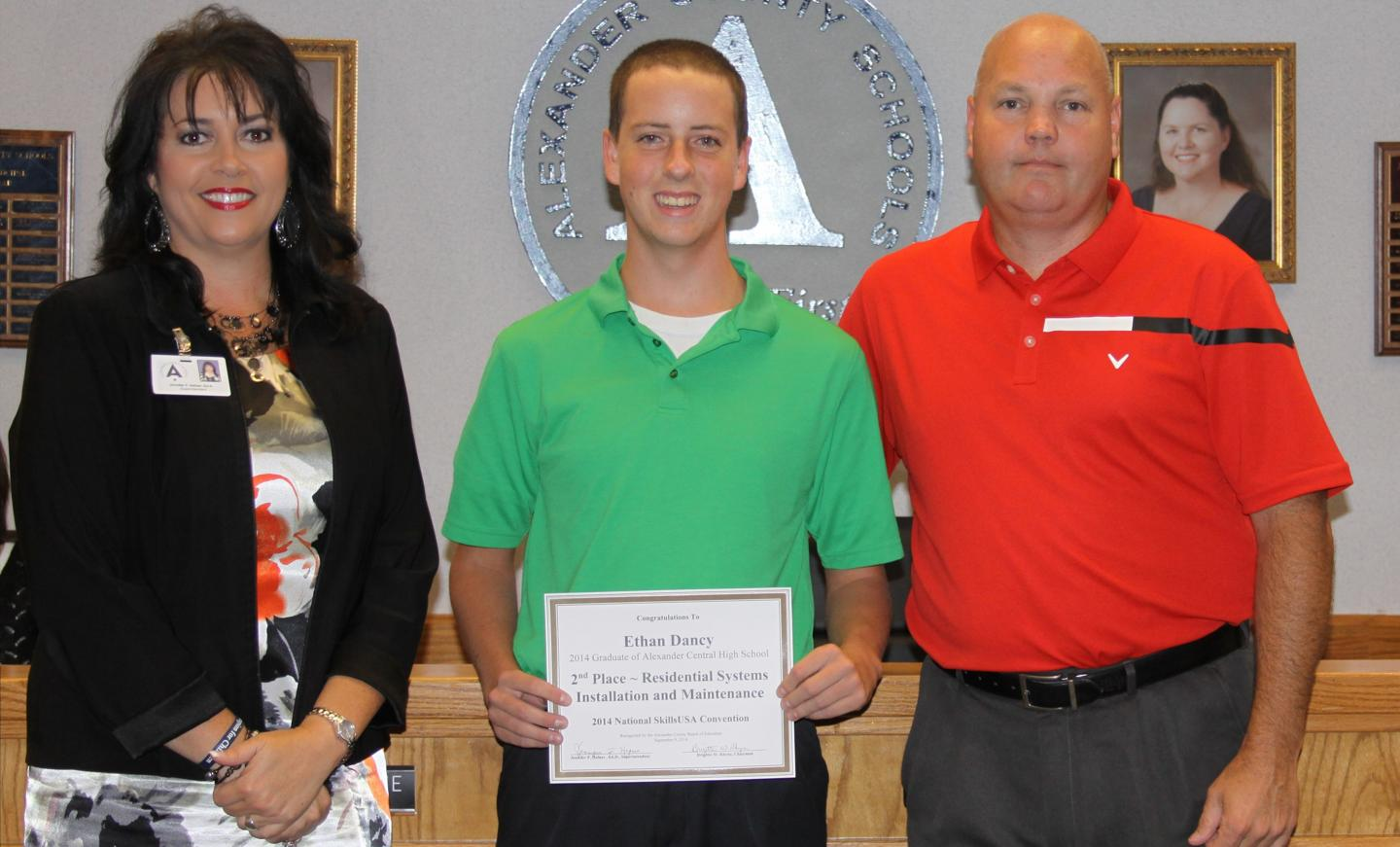 Board Honors Graduate
