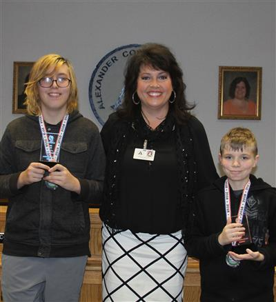 Brown and Warner capture top spots in 2018 Middle School Geography Bee