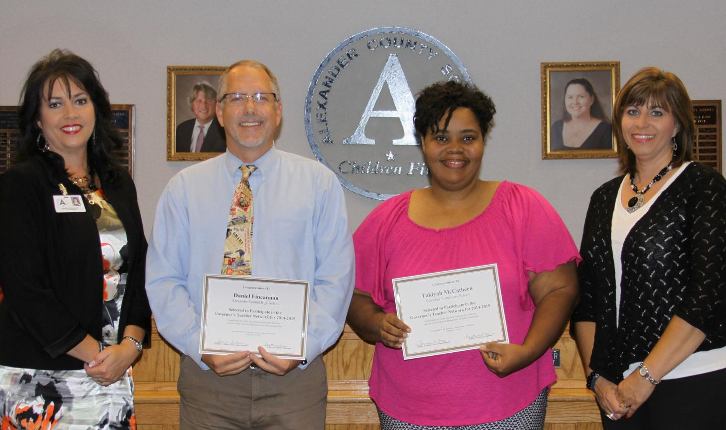 Board Honors Staff
