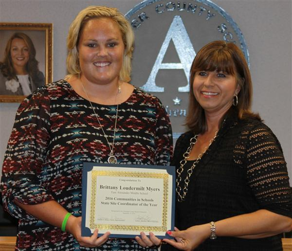 Congratulations to Brittany Loudermilt Myers!
