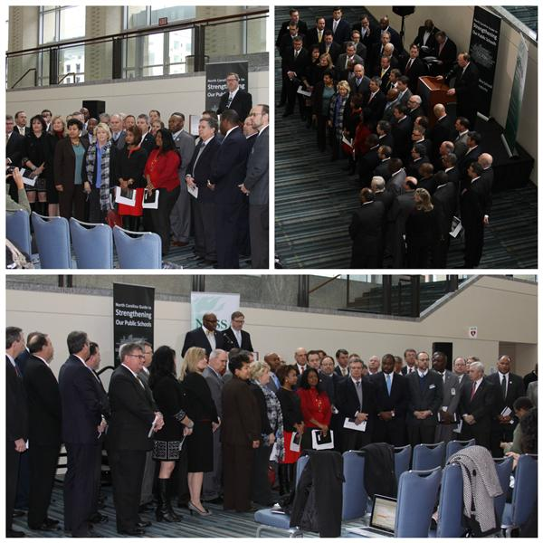 Hefner Among NC Superintendents Unveiling Education Reform Guide