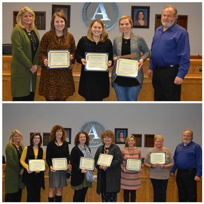 Ten educators recognized for National Board Certification