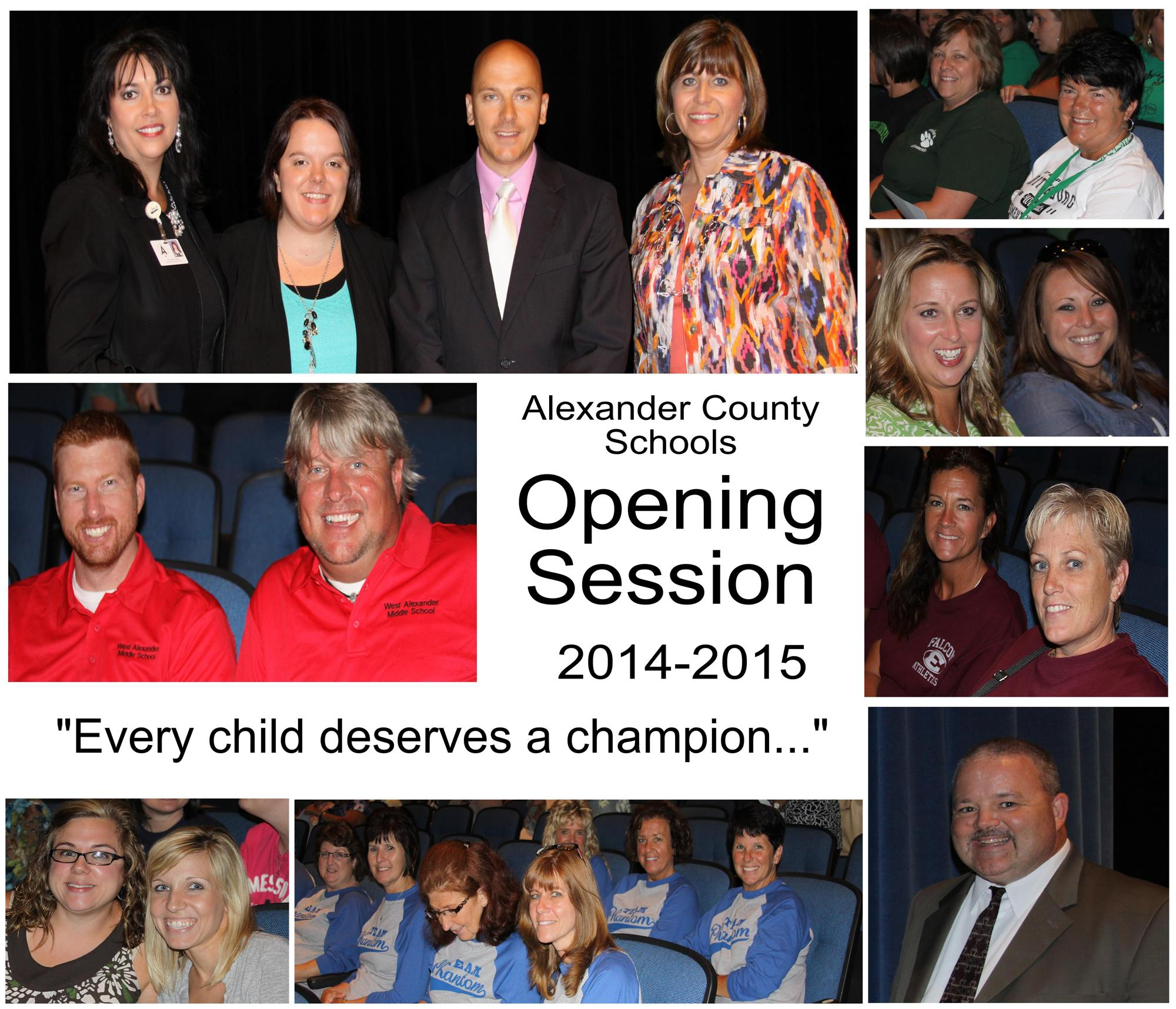 ACS Opening Session Prepares Staff for New Year