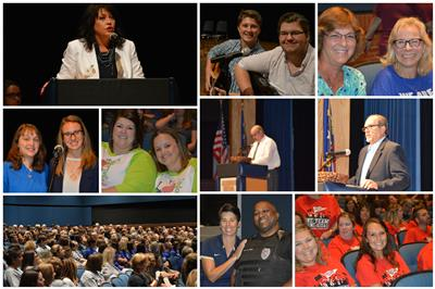 Alexander County Schools Opening Session Held at Auditorium