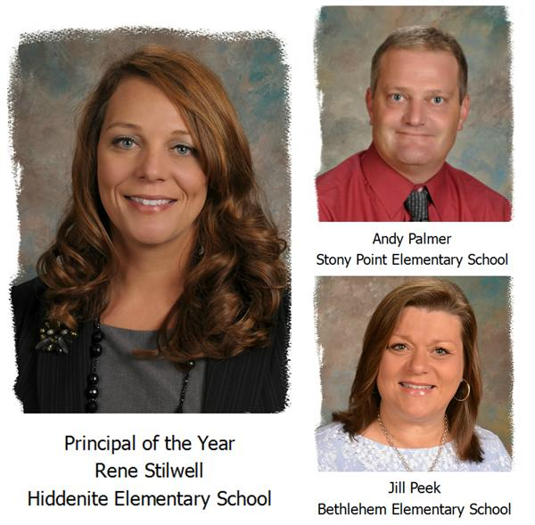 Principal of the Year and Nominees