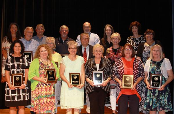 Congratulations to our 2016 Retirees!
