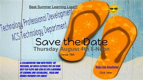Summer Tech PD