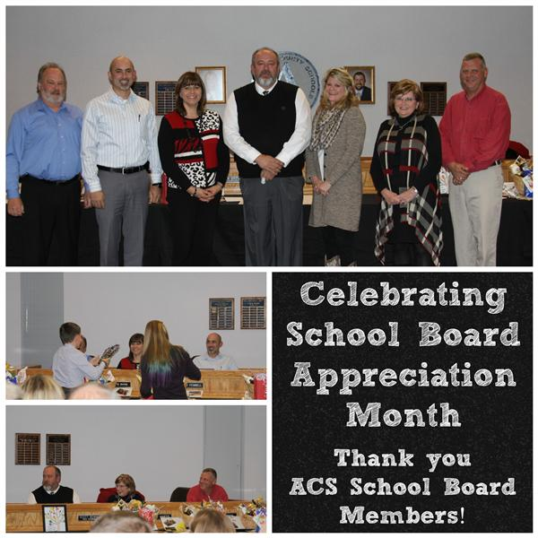 January is School Board Appreciation Month