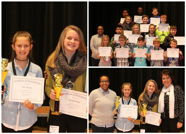 Andras wins Spelling Bee; Bishop is Second