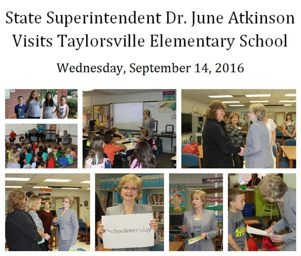 Alexander County Welcomes Dr. June Atkinson!