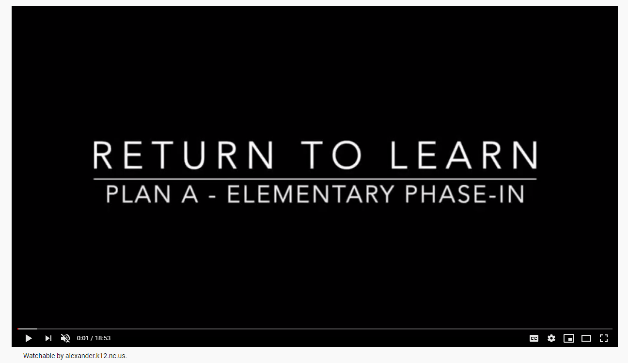 New video conversation with Superintendent Dr. Hefner and Ms. LeeAnne Whisnant