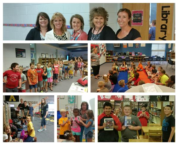 More Photos of Staff and Students Enjoying the First Week of School!
