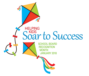 School Board Appreciation logo - Soar to Success theme