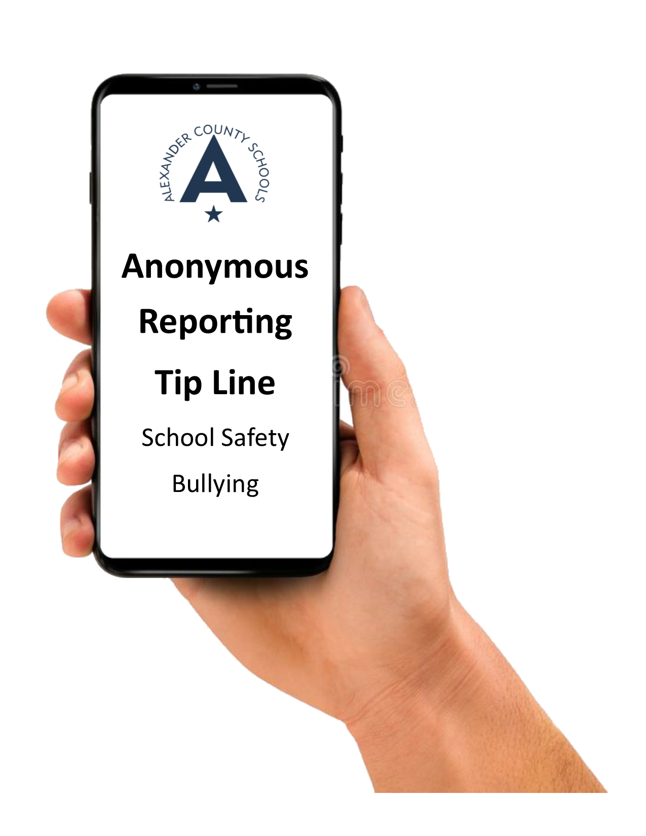 Anonymous Reporting Tip Line