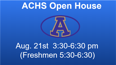 ACHS Open House