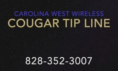 Carolina West Wireless Cougar Tip Line