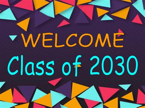 Class of 2030 Sign