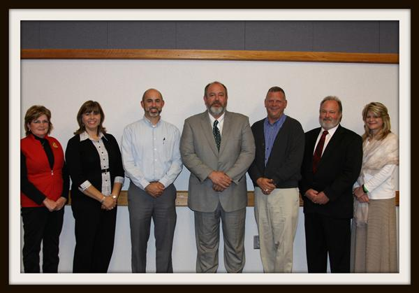 2015 Alexander County School Board Members