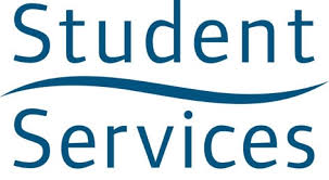 image of the words Student Services